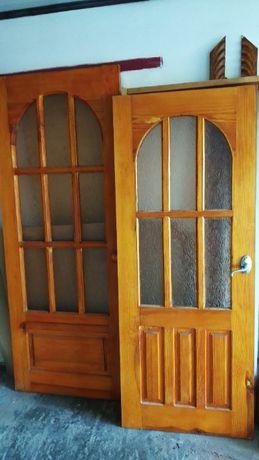 Двери межкомнатные деревянные, сосна