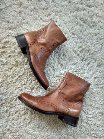 Кожаные ботинки челси бренд Peter Hahn