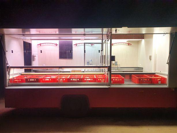 PILNIE Auto food truck Fiat Ducato lada chlodnicza kat C