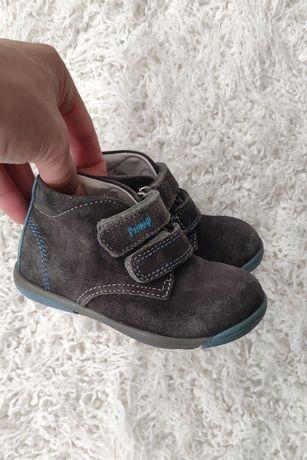 Замшевые осенние ботинки Primigi 22р 13,3см