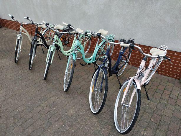 """Nowe rowery miejskie # Koła 28"""" # Kosz gratis # 3 Biegi Shimano #"""