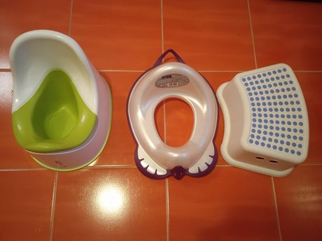 Nocnik nakładka na WC podnóżek