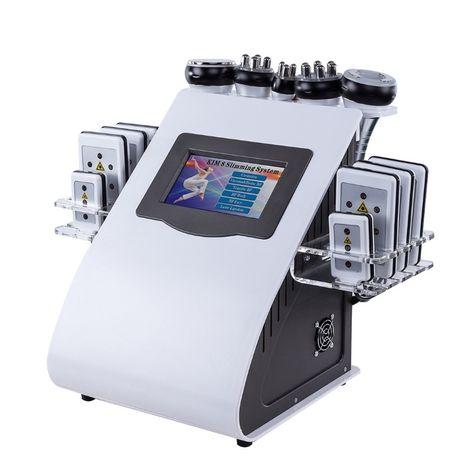 Аппарат для похудения6 в 1: Лазерный Липолиз, Кавитация, RF, Вакуум