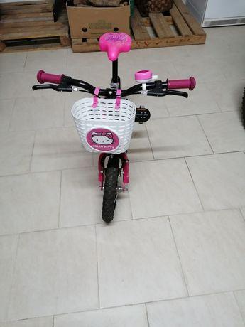 """Bicicleta menina da """"Popota"""" roda 14"""
