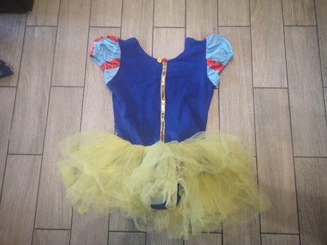 Sukienka baletnicy, królewna Śnieżka roz.5-6 lat
