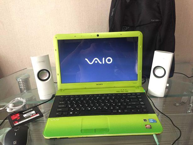 Продам домашний кинотеатр ноутбук Sony VAIO VPCEA4S1E Зеленый