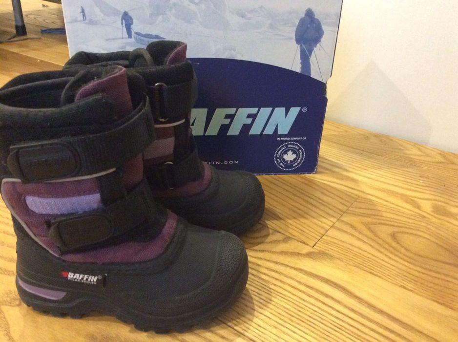 Термо ботинки зимние Baffin  для мальчика с внутренним сапожком 15,8см Одесса - изображение 1