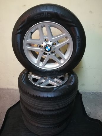Komplet kół BMW E46 15 cali aluminiowe felgi