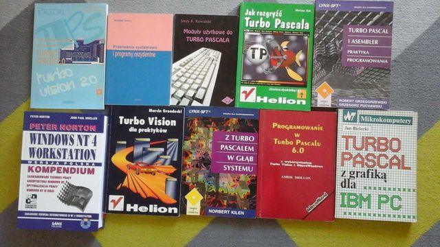Ksiazki, informatyka, windows, pascal, turbo wision