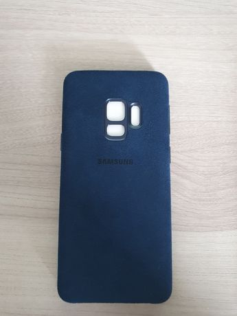 Etui oryginalne Alcantara Samsung Galaxy S9