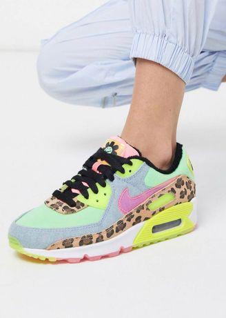 Кроссовки Nike Air Max 90 animal neon