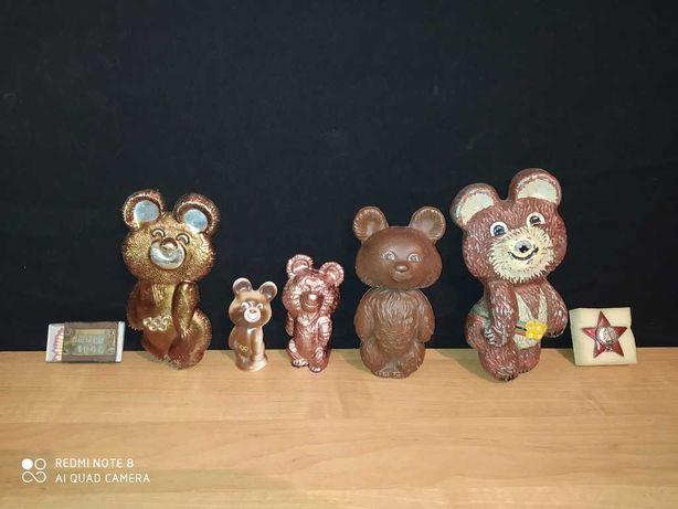 мишка олимпийский. олимпиада -80 ссср
