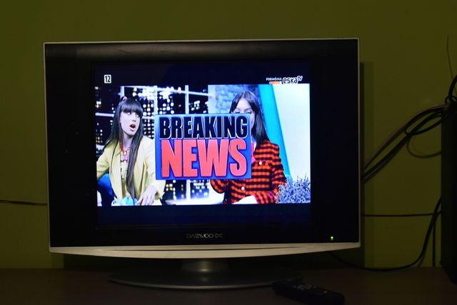 "TV LCD Daewoo 20"" Cali Warto"