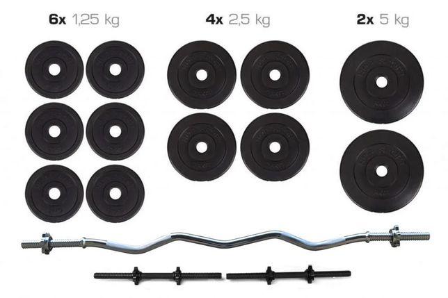 СУПЕРПРОПОЗИЦІЯ!!! Штанга + Гантели Набор 36 кг, Набір для жима