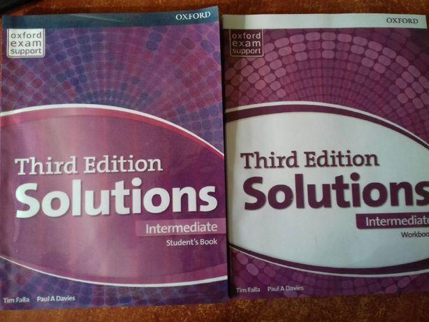 Solution (intermediate) английский учебник и рабочая тетрадь