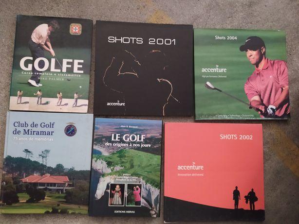 Livros sobre Golf