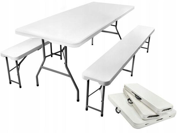 Розкладний садовий стіл 1.8м + 2лавки складной садовый стол +2скамейки
