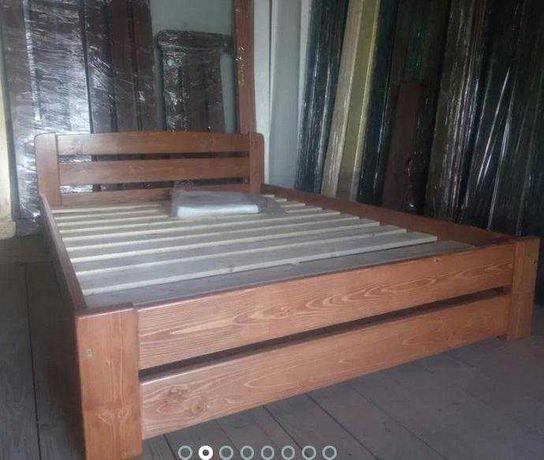 Кровать массив дерева сосна 140 х 200cm дерево массив сосны