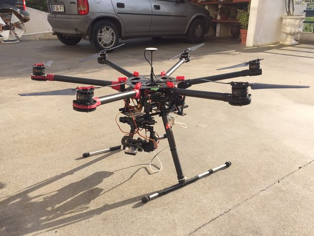 Drone DJI S900 inteiro ou as peças