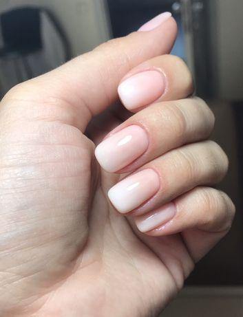 Маникюр, наращивание ногтей , покрытие гель -лак.