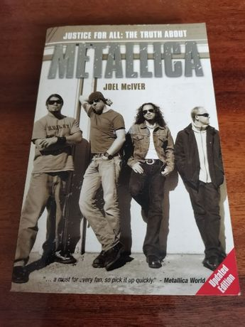 "Книга ""Justige for all: the truth about Metallica"""
