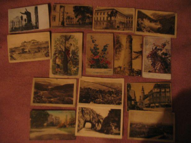 sprzedam 15 starych pocztówek