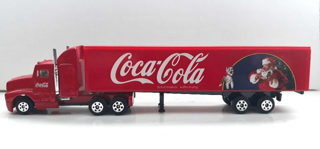 coca cola ciężarówka świateczna coca-cola