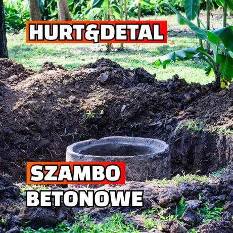 Zbiornik Betonowy Deszczówka Szambo Betonowe Piwniczka Betonowa