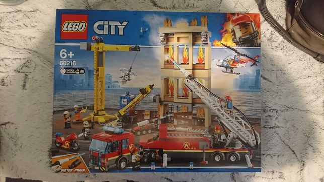 Lego city60216 nowe +gratis creator okolicznosciowy mikolaj PROMO DZIS