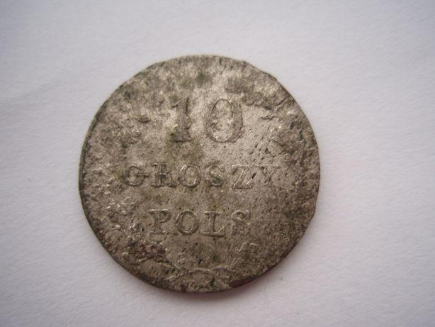 10 groszy 1831 Powstanie Listopadowe (b)