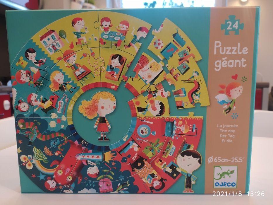 Puzzle podłogowe Pory dnia Djeco Szczecin - image 1
