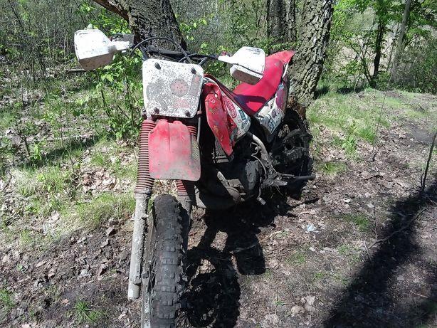 Honda crm 125 2 t możliwa zamiana