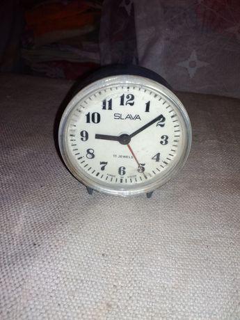 """Часы с будильником """"Slava"""""""