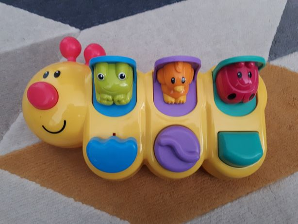 Wesoła gąsienica Fisher Price