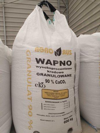 Wapno nawozowe granulowane kredowe magnezowe dostawa cała Polska