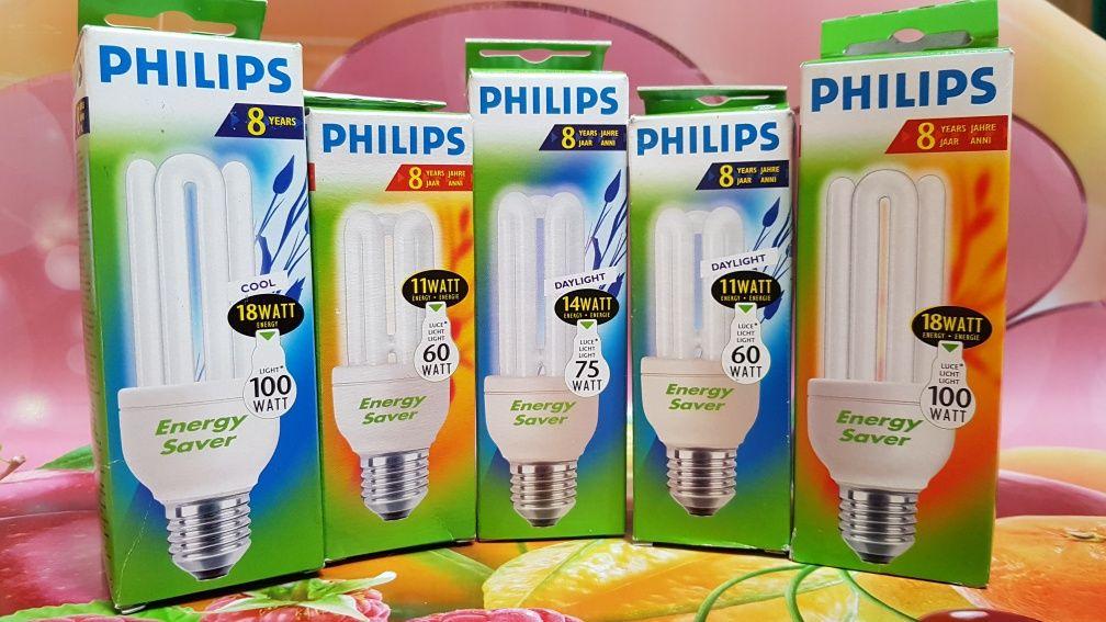 Лампа  энергосберегающая компактная Pнilips  Genie