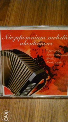 Niezapomniane melodie akordeonowe. Płyta CD.Unikat!