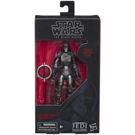Habro Star Wars Black Series Carbonized Second Sister figura
