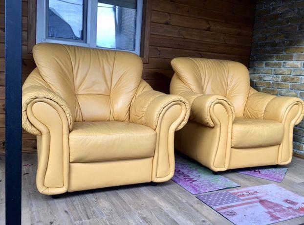 Офисное кресло диван для гостинной из кожи бу
