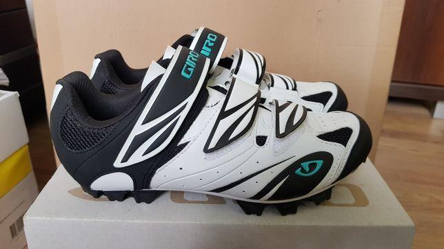Nowe buty spd Giro Riela mtb rowerowe nowe damskie