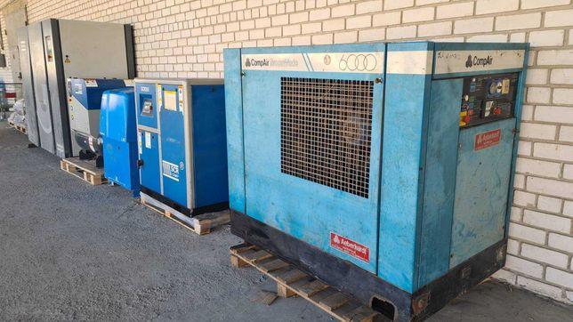Аренда винтовых компрессоров 7,5 - 250 кВт. Давление 7,5 10 13 бар