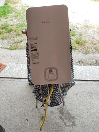 Esquentador ventilado para gás de botija