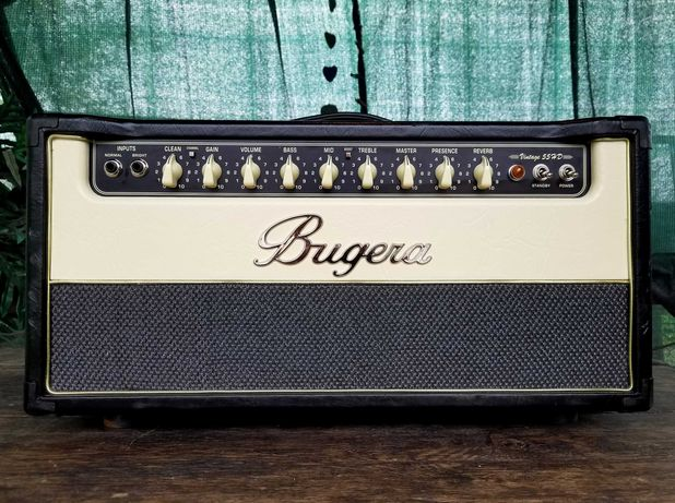 Лампова голова Bugera Vintage 55HD. 55-Watt.