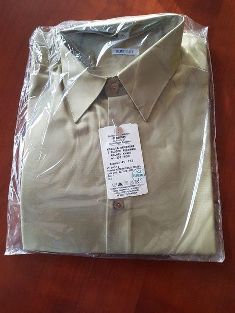 Koszula khaki wyjściowa