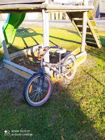 OKAZJA!!! Rower dziecięcy Mexller czarno-pomarańczowy