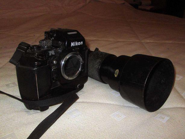 Máquina Fotográfica Nikon F4 com Ojectiva Tokina 70/200 2,8