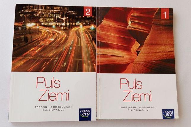 Geografia podręczniki do gimnazjum Puls Ziemi - cena za obie książki