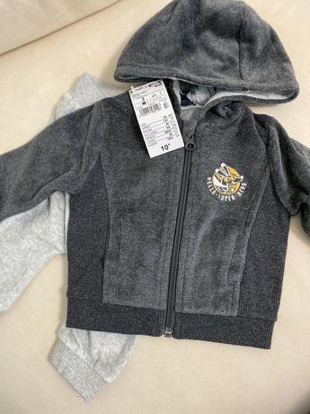Костюм дитячий спортивний штани kiabi Польща костюм детский спортивный