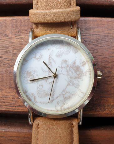 Zegarek damski H&M nowa bateria, piękny wzór tarczy, bardzo dobry stan