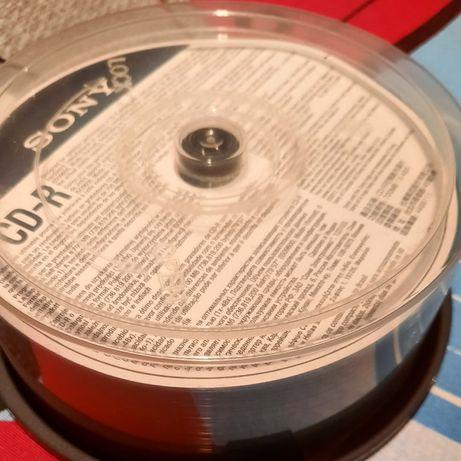 Conjunto 23 CDs -R, Sony, 700mb